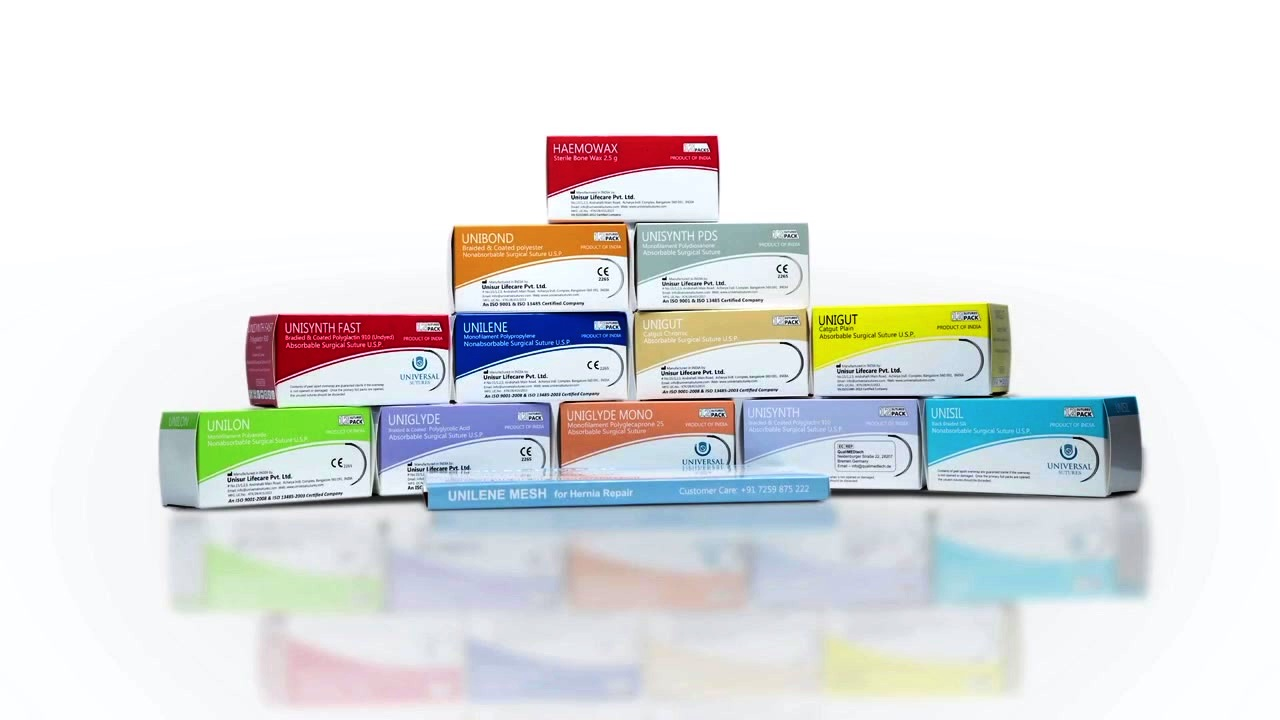 surgical sutures manufacturer